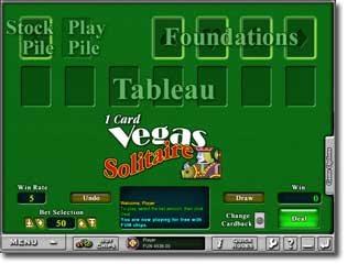 Download 1 Card Vegas Solitaire